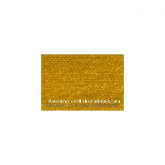 Fil polyester Mettler 200m Couleur n°0118 Or