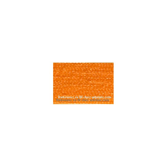 Fil polyester Mettler 200m Couleur n°0122 Citrouille