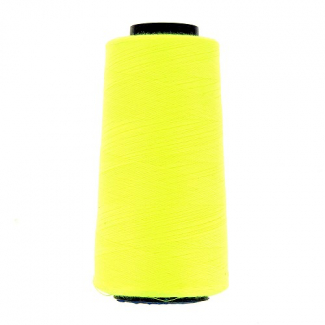Polyester Serger and sewing Thread Cone (2743m) Neon Yellow