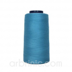 Polyester Serger and sewing Thread Cone (2743m) Sky Blue