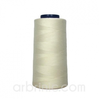 Polyester Serger and sewing Thread Cone (2743m) Ecru