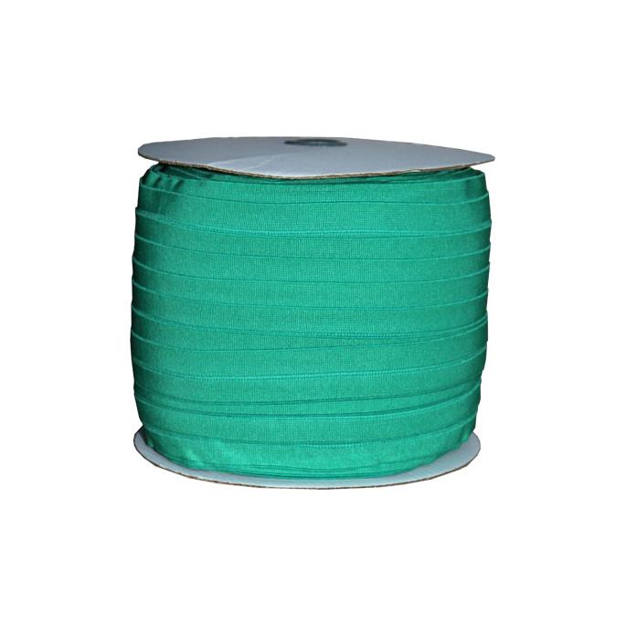 Biais élastique 2.5cm Vert trèfle (Bobine 100m)
