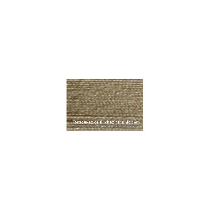 Fil polyester Mettler 200m Couleur n°0379 Pierre Brune