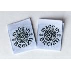 """Etiquettes déco """"Made in Breizh"""" - Lot de 10"""