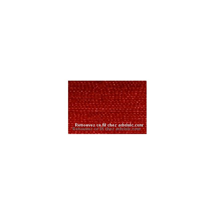 Fil polyester Mettler 200m Couleur n°0503 Rouge Cardinal