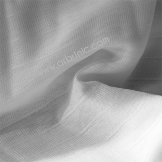 White organic cotton prefolds fabric