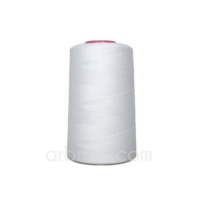 Cône fil polyester Blanc (4573m)