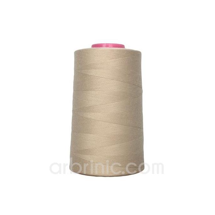 Cône fil polyester Beige (4573m)