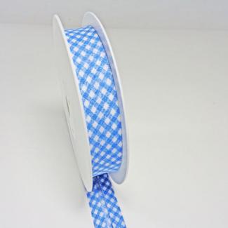 Single Fold Bias Check Blue 20mm (by meter)