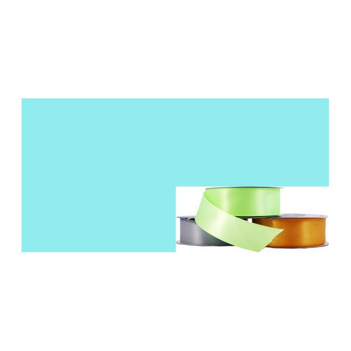 Ruban Satin 25mm Bleu Pâle (rouleau 20m)
