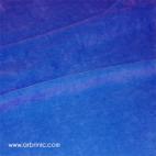 Velours de coton Oekotex Bleu Roi (au mètre)