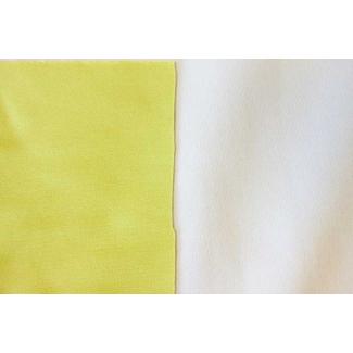 PUL Oekotex sandwich Celeri / White