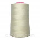 Polyester Serger and sewing Thread Cone (4573m) Ecru