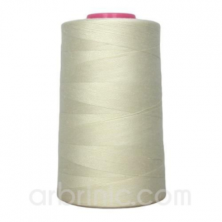 Cône fil polyester Ecru (4573m)
