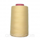 Polyester Serger and sewing Thread Cone (4573m) Cream