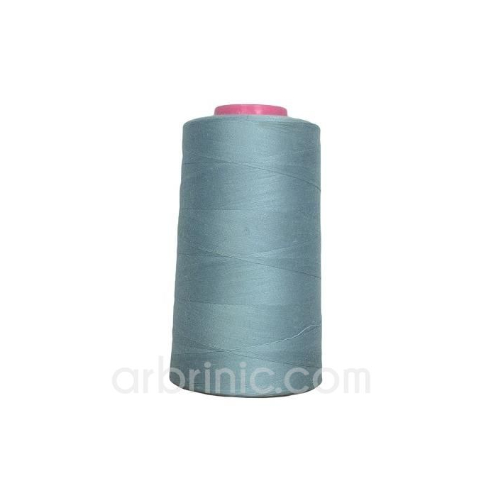 Polyester Serger and sewing Thread Cone (4573m) Grey Blue
