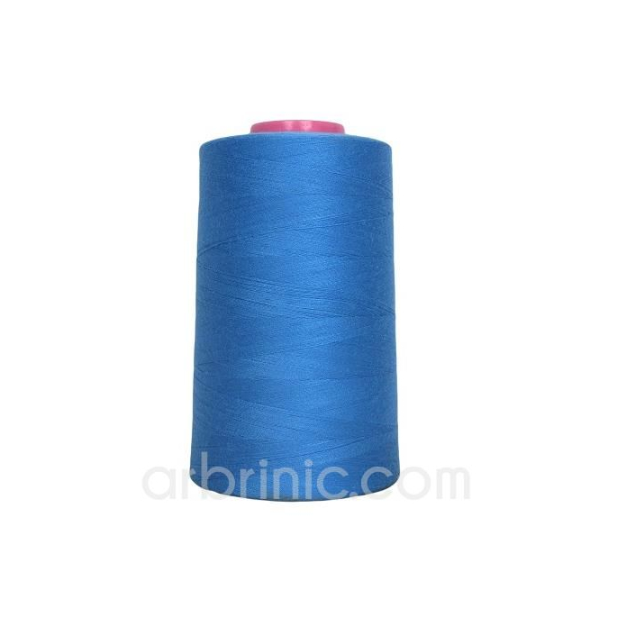 Polyester Serger and sewing Thread Cone (4573m) French Blue