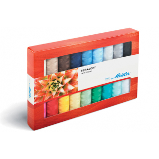 Mettler Polyester Sewing Thread - 18 bobins Kit (8x200m)