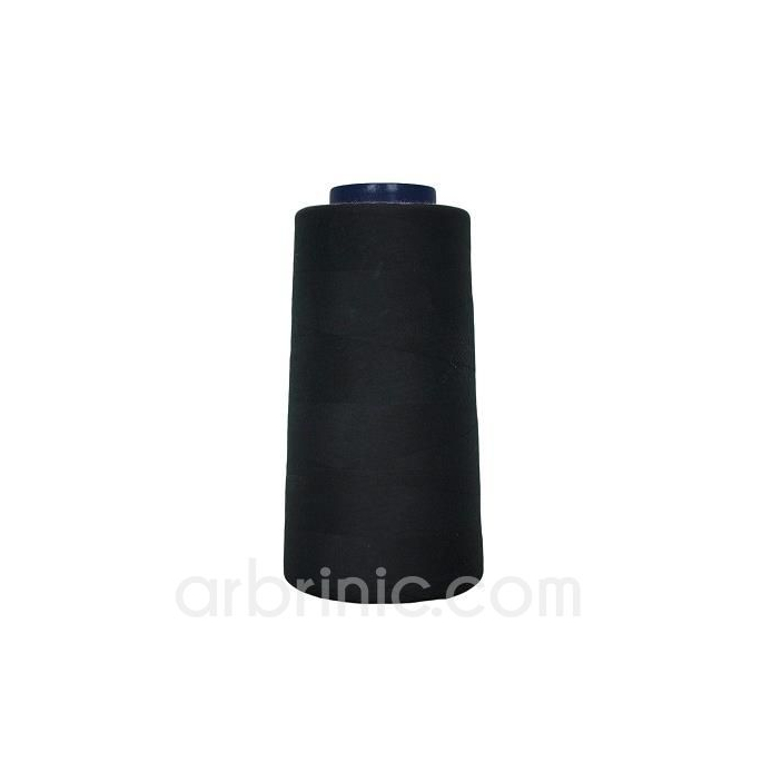 Polyester Serger and sewing Thread Cone (2743m) Black