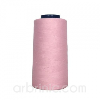 Polyester Serger and sewing Thread Cone (2743m) Light Pink