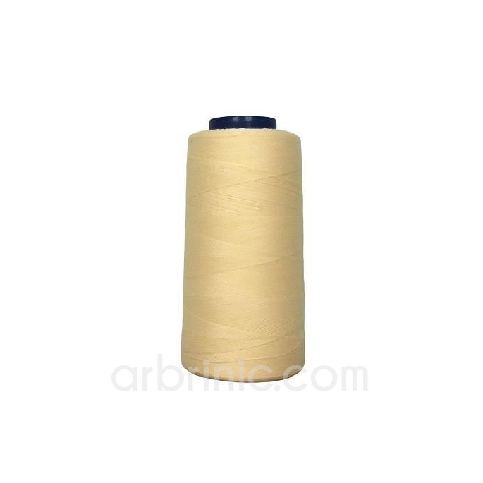 Polyester Serger and sewing Thread Cone (2743m) Cream