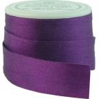 Silk Ribbon 13mm Purple (5m spool)