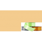 Satin Ribbon 25mm Beige (20m roll)
