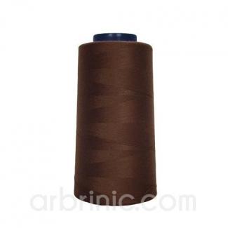 Cône fil polyester Chocolat (2743m)