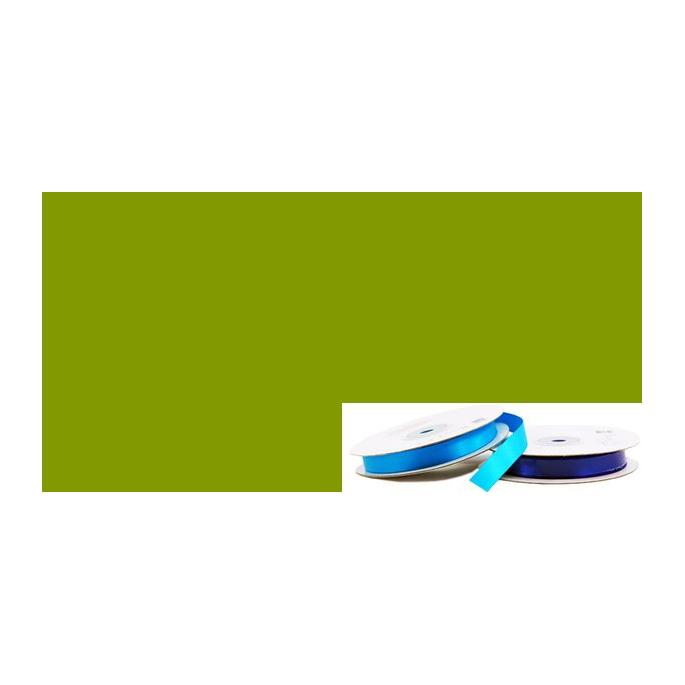 Satin Ribbon 13mm Olive (20m roll)