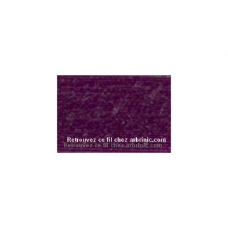Fil polyester Mettler 200m Couleur n°1062 Violet Passion