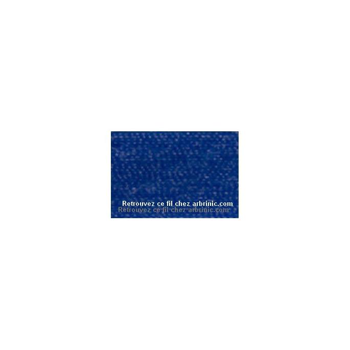 Fil polyester Mettler 200m Couleur n°1078 Bleu Flamme