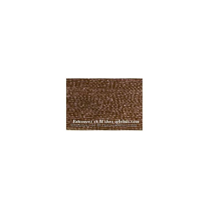 Fil polyester Mettler 200m Couleur n°1223 Pécan