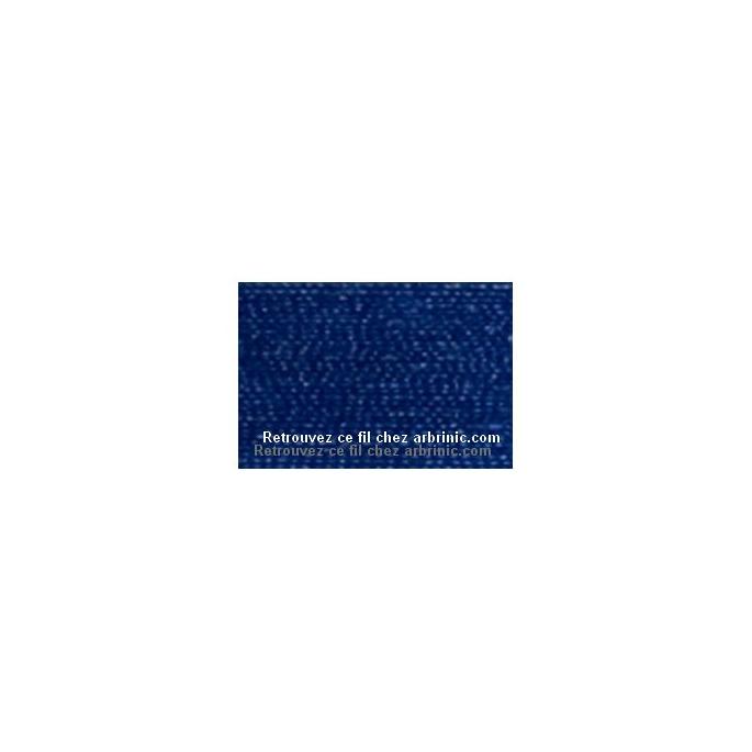 Fil polyester Mettler 200m Couleur n°1304 Bleu Imperial
