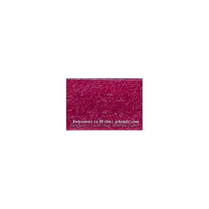 Fil polyester Mettler 200m Couleur n°1417 Pivoine