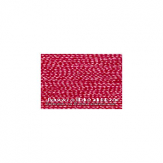 Fil polyester Mettler 200m Couleur n°1422 Rouge Rubis