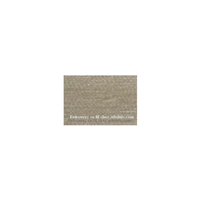 Fil polyester Mettler 200m Couleur n°1453 Champignon de Paris