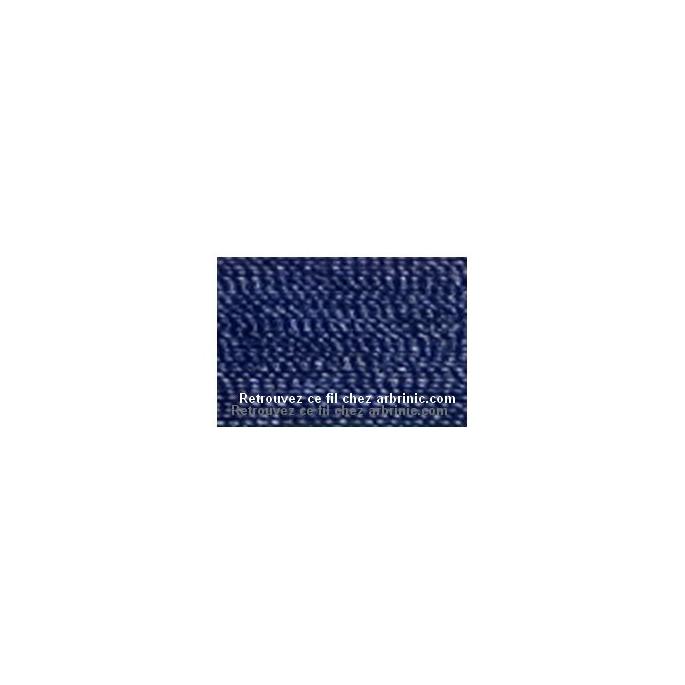 Fil polyester Mettler 200m Couleur n°1465 Bleu Minuit