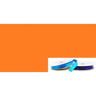Ruban Satin 13mm Orange (rouleau 20m)