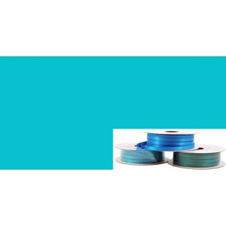 Ruban Satin 6mm Aqua (rouleau 20m)
