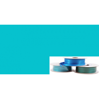 Satin Ribbon 6mm Aqua (20m roll)