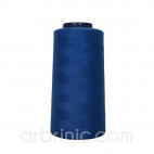 Polyester Serger and sewing Thread Cone (2743m) Royal Blue