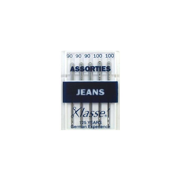 Aiguilles Machine Jeans Assortiment 90-100 (x5)