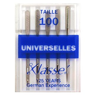 Aiguilles Machine Universelles 100/16 (x5)