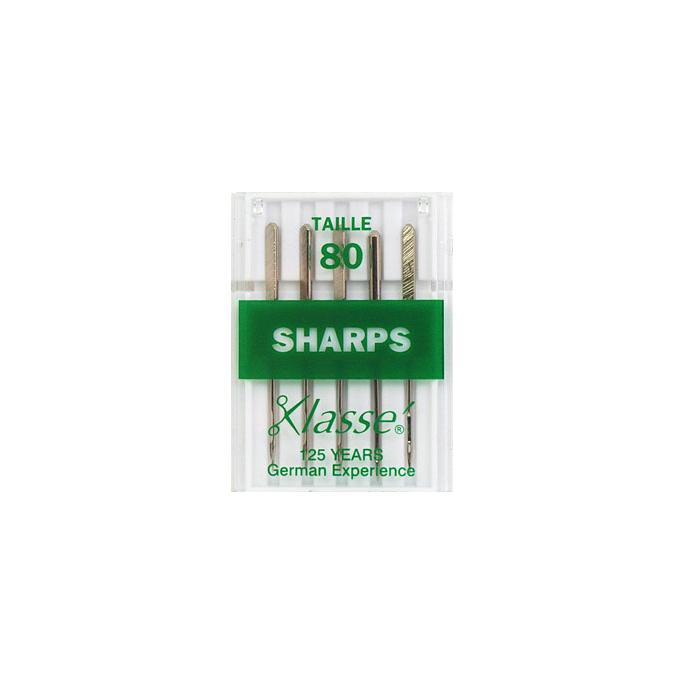 Machine needles Sharp 80/12 (x5)