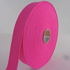 Cotton Webbing 30mm Pink (15m roll)