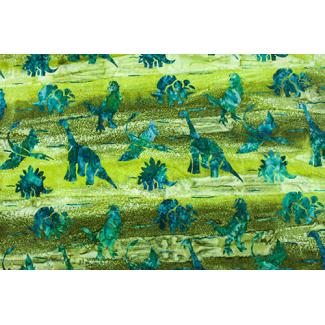 Cotton Green Dinos (per 10cm)