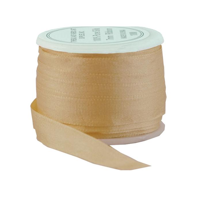 Silk Ribbon 7mm Peach (10m spool)