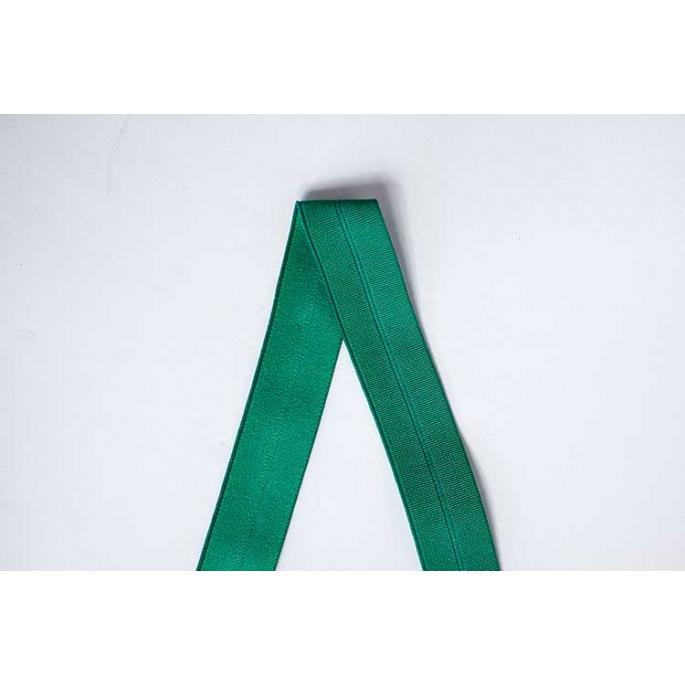 Biais élastique 2.5cm Forest green (1m)