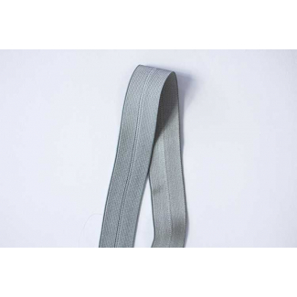 Biais élastique 2.5cm Gris (1m)