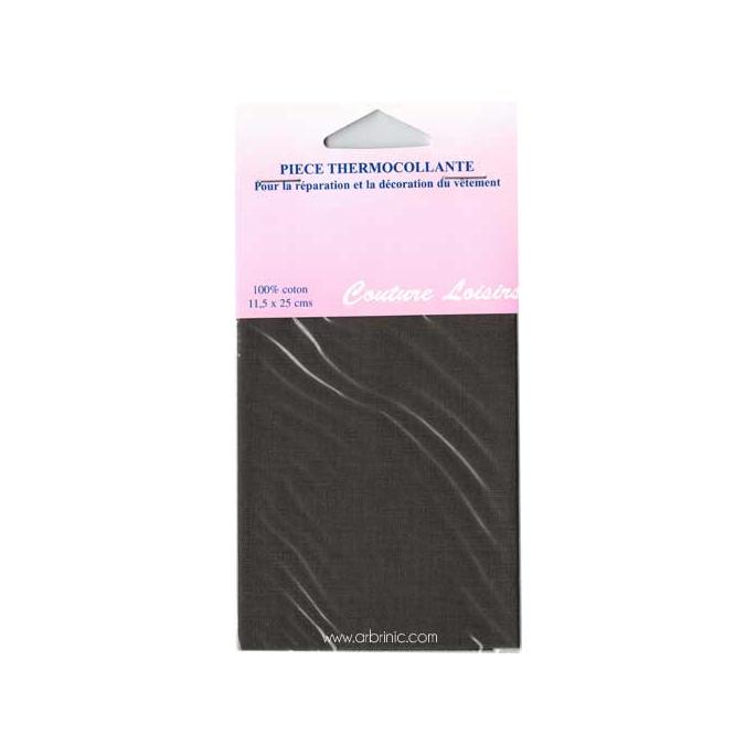 Iron-on mender - Lightweight cotton Kaki